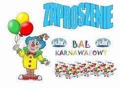 Zaproszenie Na Bal Karnawałowy Polski